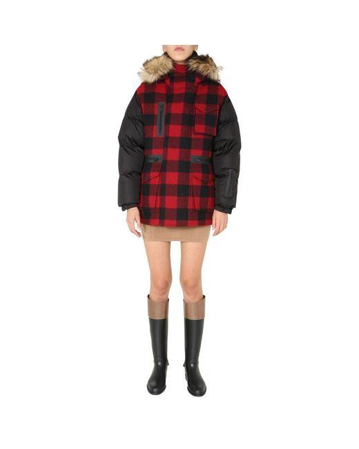 DSquared² Ski Down Jacket in het Black