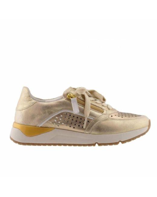 Gabor Sneakers in het Yellow