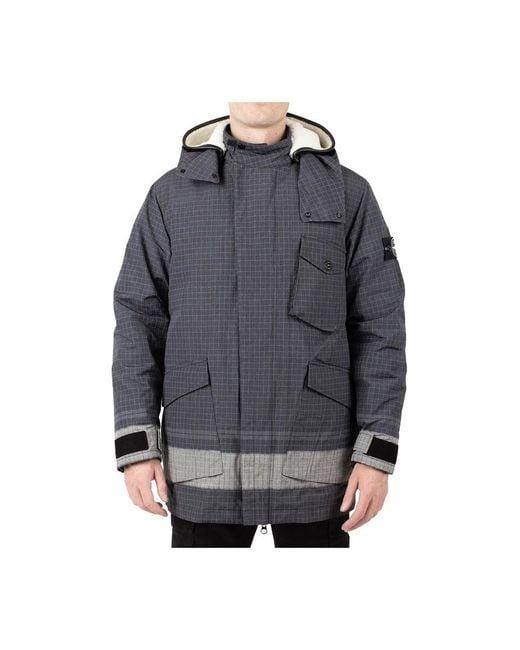 Jacket di Stone Island in Black da Uomo