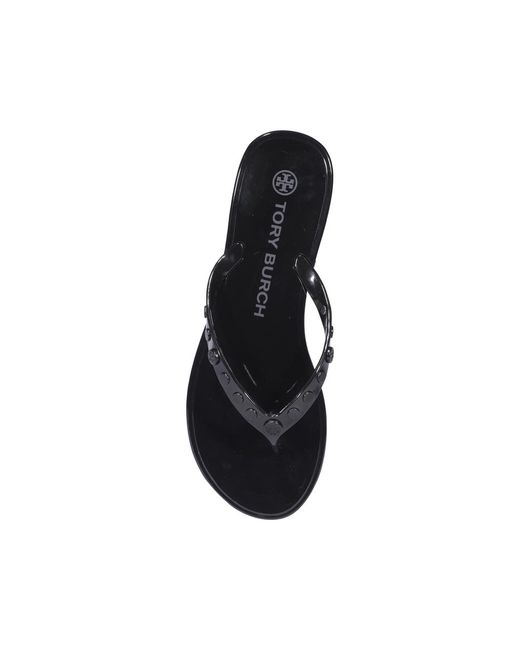 Sandals Tory Burch en coloris Black