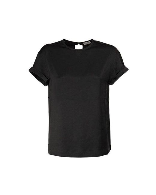 Brunello Cucinelli T-shirt in het Black