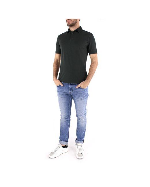 Polo T-shirt 811818 Z0380 Verde Zanone de hombre de color Green