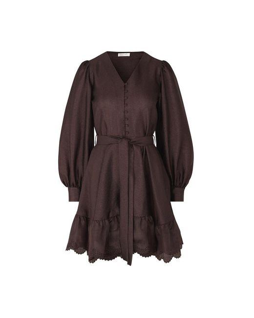 Farrow Robe Stine Goya en coloris Brown