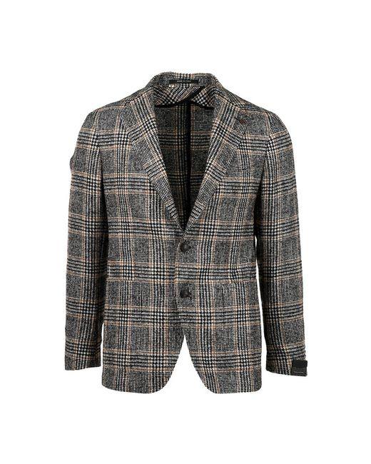 Tagliatore Jacket in het Gray voor heren