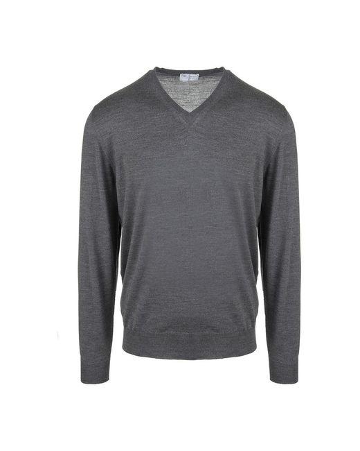 Fedeli Sweater in het Gray voor heren