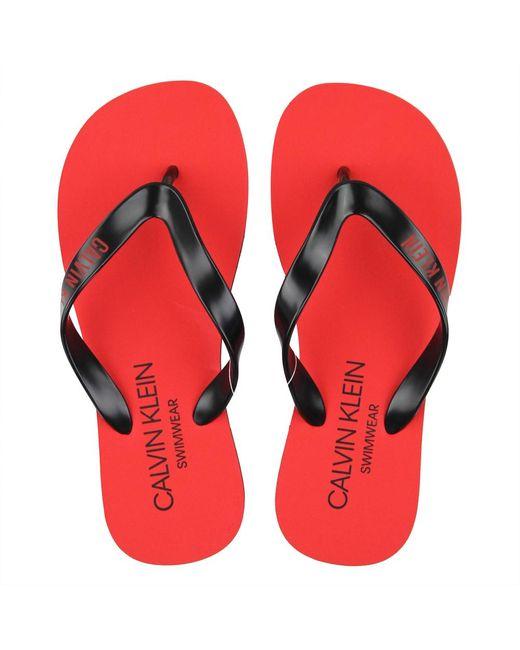 Sandals Pinko pour homme en coloris Red