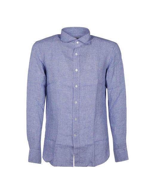 Bagutta Shirt in het Blue voor heren