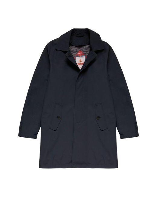 Baracuta G10 Classic Detachable Coat in het Blue voor heren