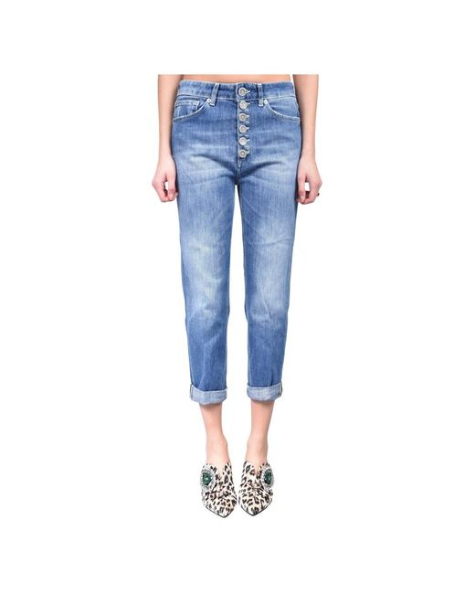 Jeans boy-friend modello koons gioiello di Dondup in Blue