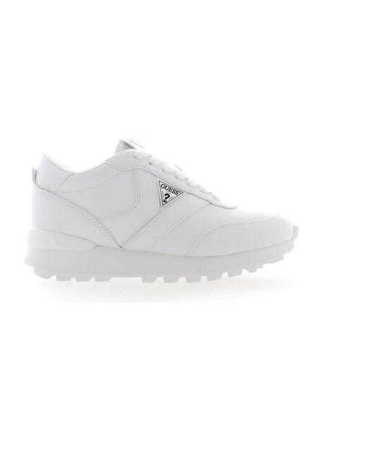 Guess Sneakers in het White