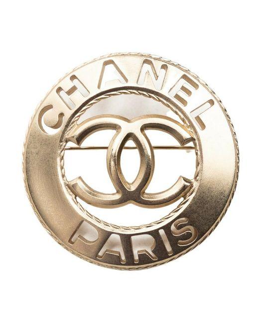 Chanel Vintage Tweedehands Spies in het Natural