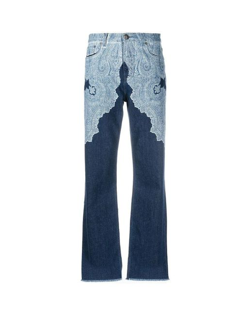 Etro Pants in het Blue