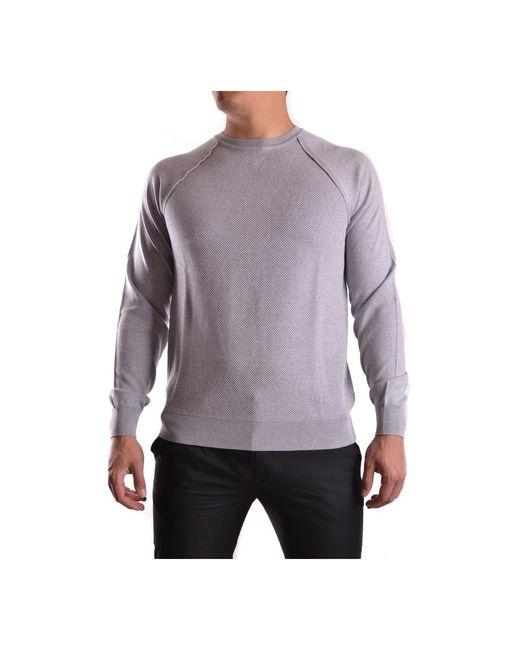 Sweaters di Paolo Pecora in Gray da Uomo