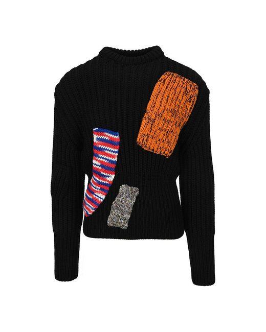 Raf Simons Knitwear Sweater A0180650005 in het Black voor heren