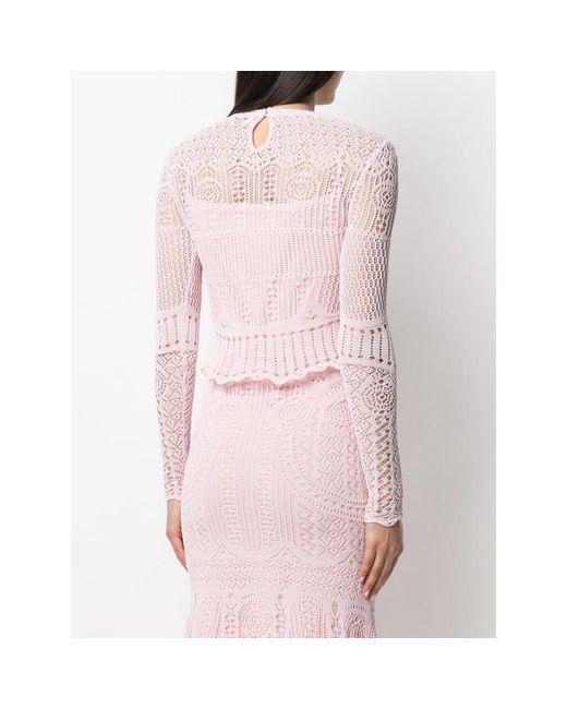 Cima Rosa Alexander McQueen de color Pink