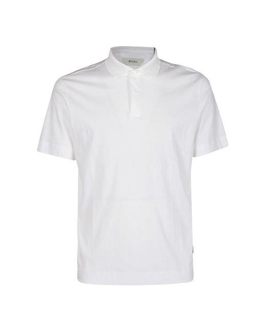 Z Zegna T-shirt in het White voor heren