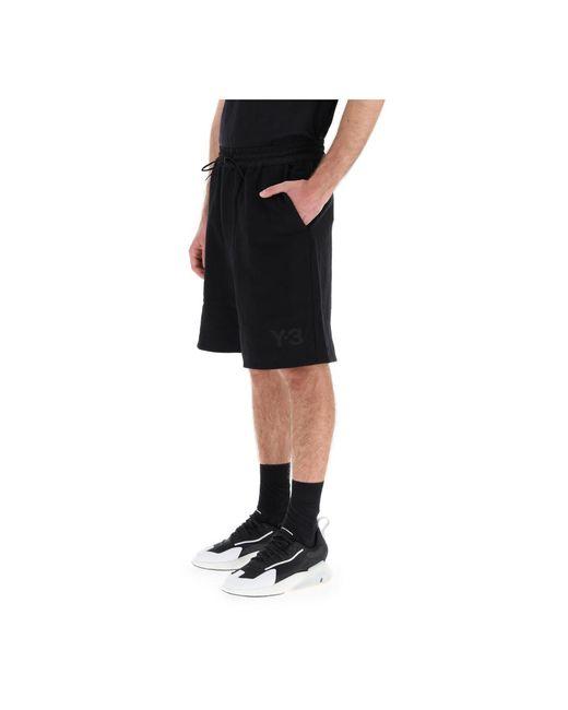 Shorts Negro Y-3 de hombre de color Black