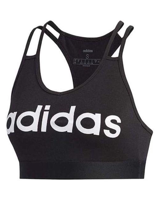 Top di Adidas in Black