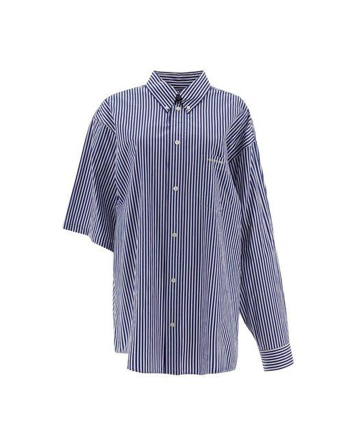 Balenciaga Shirt in het White voor heren