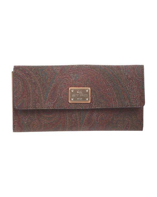 Etro Wallet in het Brown