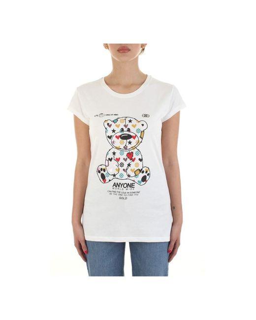 Rh0089 T-shirt di ViCOLO in White