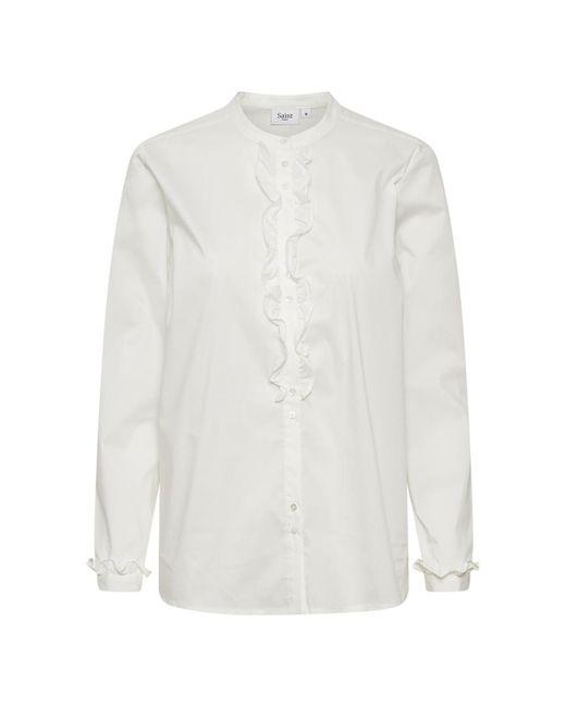 Saint Tropez Overhemd in het White