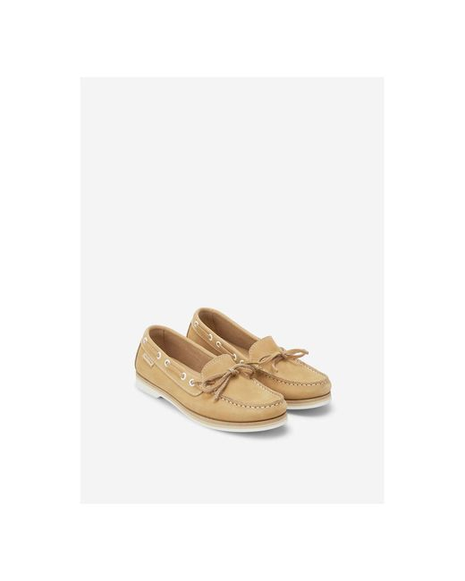 Marc O'polo Boat Shoe in het Natural
