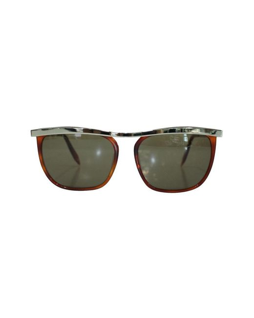 Victoria Beckham Sunglasses -pre Owned Condition Very Good in het Brown