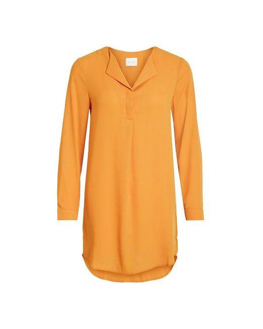 Vila Vilucy L/s Tunic in het Orange