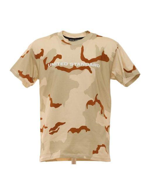 United Standard T-shirt in het Brown voor heren
