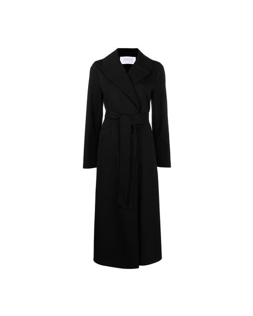 Harris Wharf London Coat in het Black
