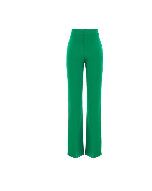 Trousers 1G15P48385/x08 Verde Pinko de color Green