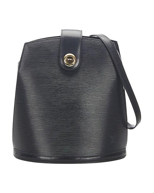 Epi Cluny Leather di Louis Vuitton in Black