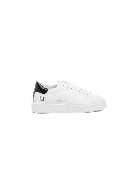 Date Sfera Calf Shoes in het White