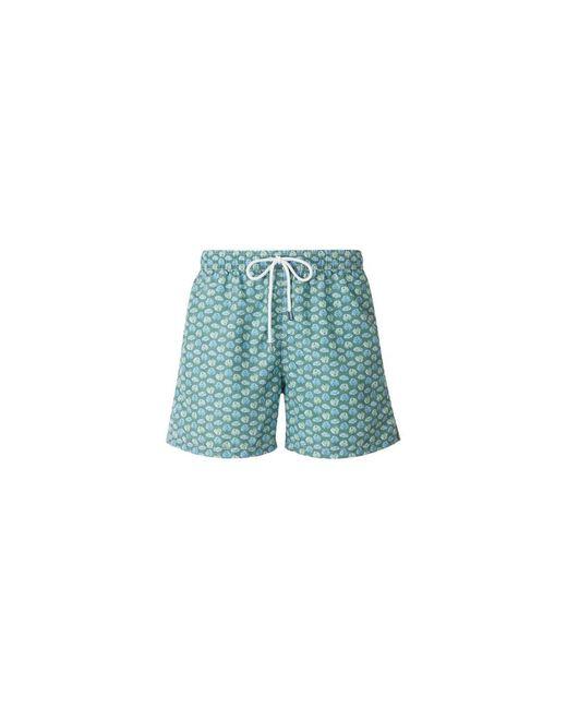 Fedeli Printed Swimshorts in het Green voor heren