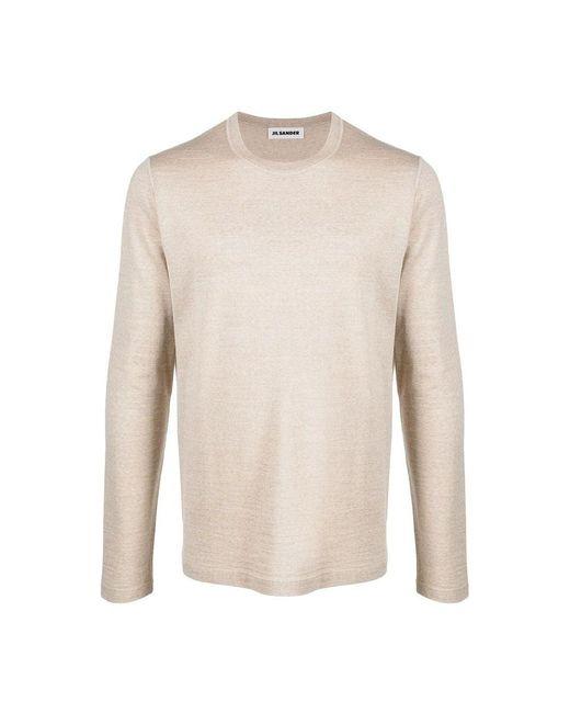 Jil Sander Sweater in het Natural voor heren