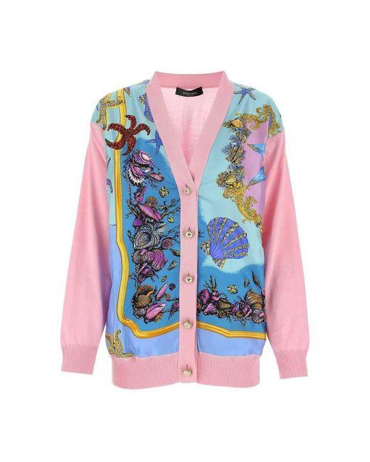 Versace Knitwear in het Pink