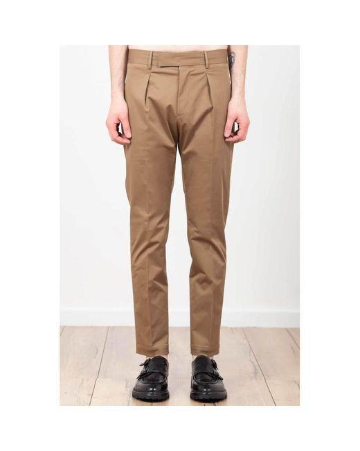 PT Torino Trousers in het Natural voor heren