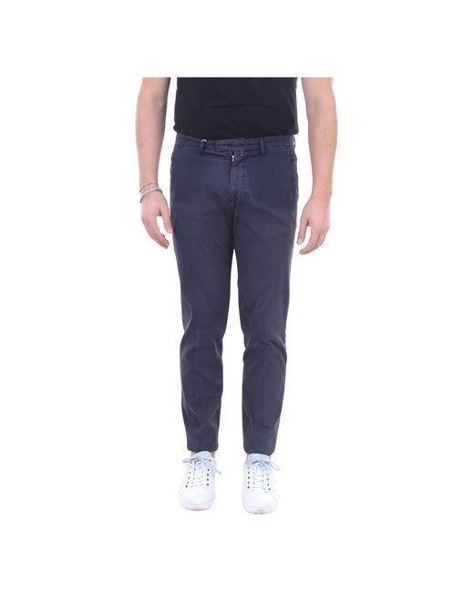 Bg03320514 Regular trousers di BRIGLIA in Blue da Uomo