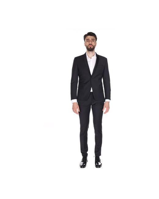 Alessandro Dell'acqua Suit in het Black voor heren