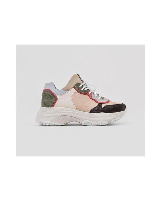 Bronx Natural Baisley Sneakers
