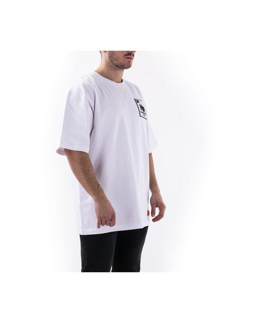 Camiseta de manga corta Blanco Heron Preston de hombre de color White