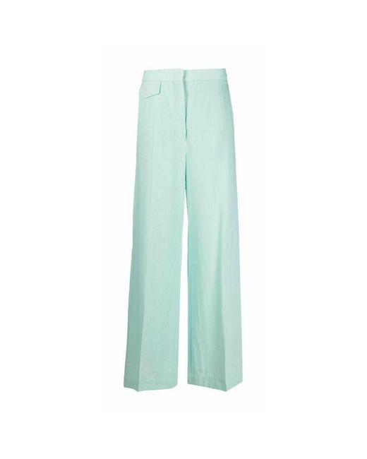 Sportmax Trousers in het Blue