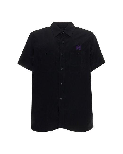 Needles Work Shirt in het Black voor heren