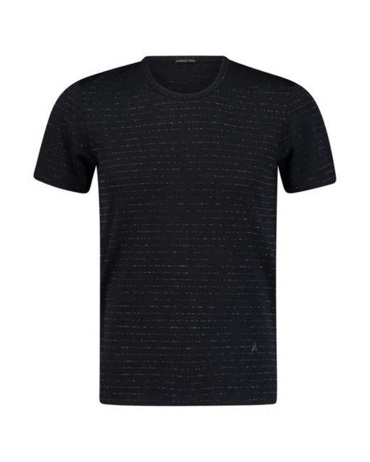 T-Shirt Girocollo di Patrizia Pepe in Black da Uomo