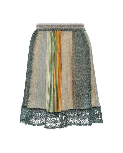 Skirt di Missoni in Green