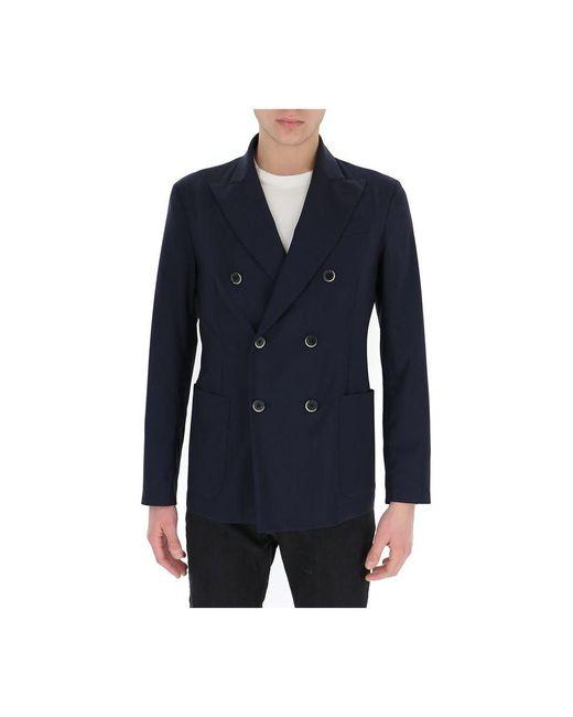Barena Jacket in het Blue voor heren
