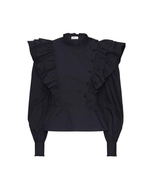 Custommade• Blouse in het Black