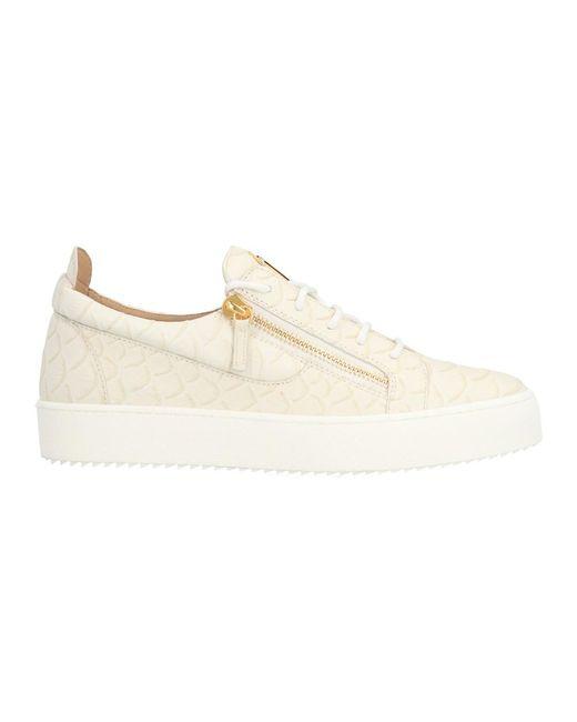 Giuseppe Zanotti Sneakers in het White voor heren