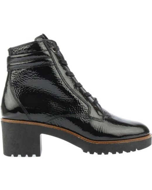 DL SPORT® Black Lace-up boot